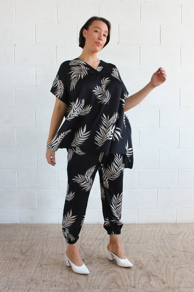 Thira top- Leaf Print