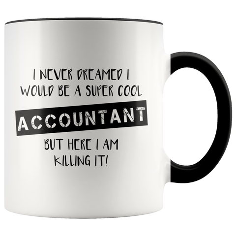 Accountant Accent Mug