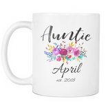 Auntie April 2018 11oz and 15oz