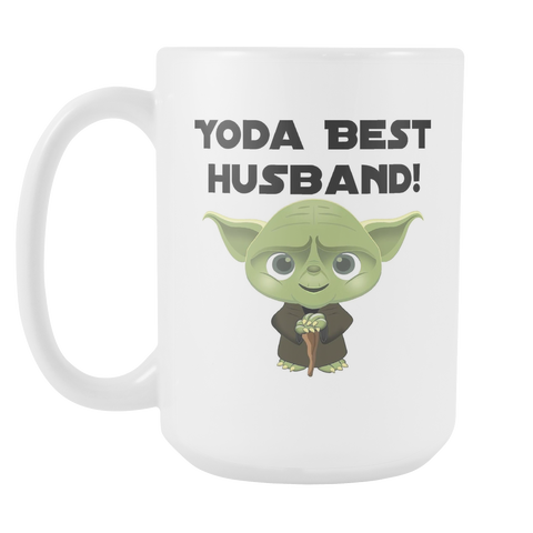 Yoda Best Husband 15oz Mug