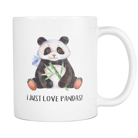 I Just Love Pandas 11 & 15oz Mug