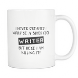 Super Cool Writer Coffee Mug