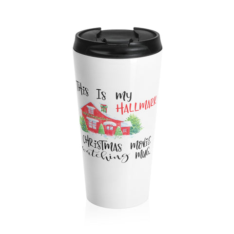 Hallmark Christmas Movie Mug Stainless Steel Travel Mug