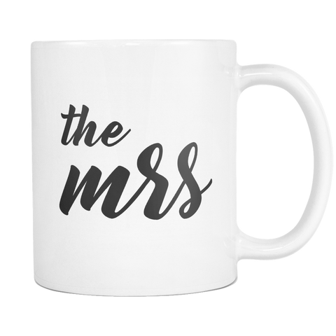 The Mrs 11 and 15oz Mug