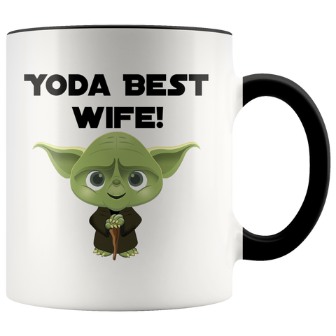 Yoda Best Wife Accent Mug