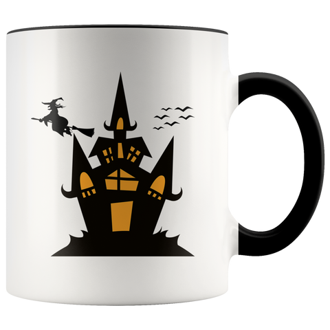 Witches Brew Halloween Accent Mug