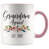 Grandma Again 2019 Accent Mug