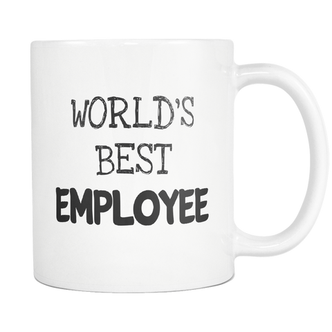 Worlds Best Employee 11oz Mug