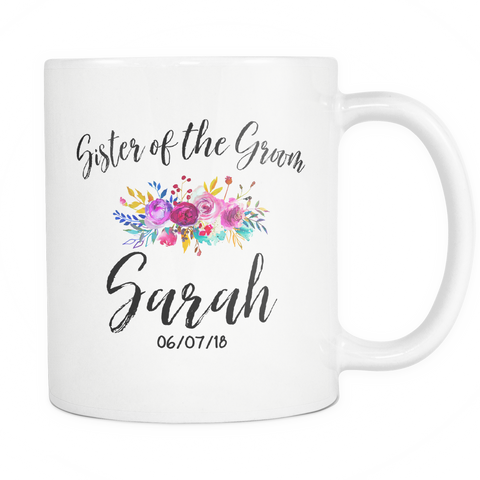 Sister of the Groom 11oz Mug