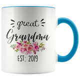 Great Grandma 2019 Accent Mug
