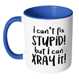 Can't Fix Stupid Accent Mug