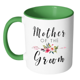Mother Of The Groom Accent Mug