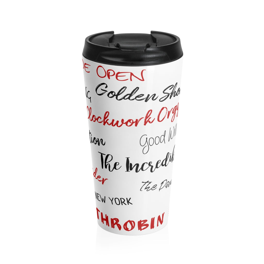 Copy of Jake taylor Stainless Steel Travel Mug