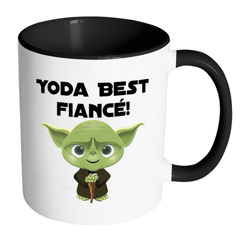 Yoda Best Fiance 11oz Accent Mug