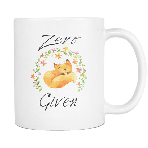 Zero Fox Given Coffee Mugs