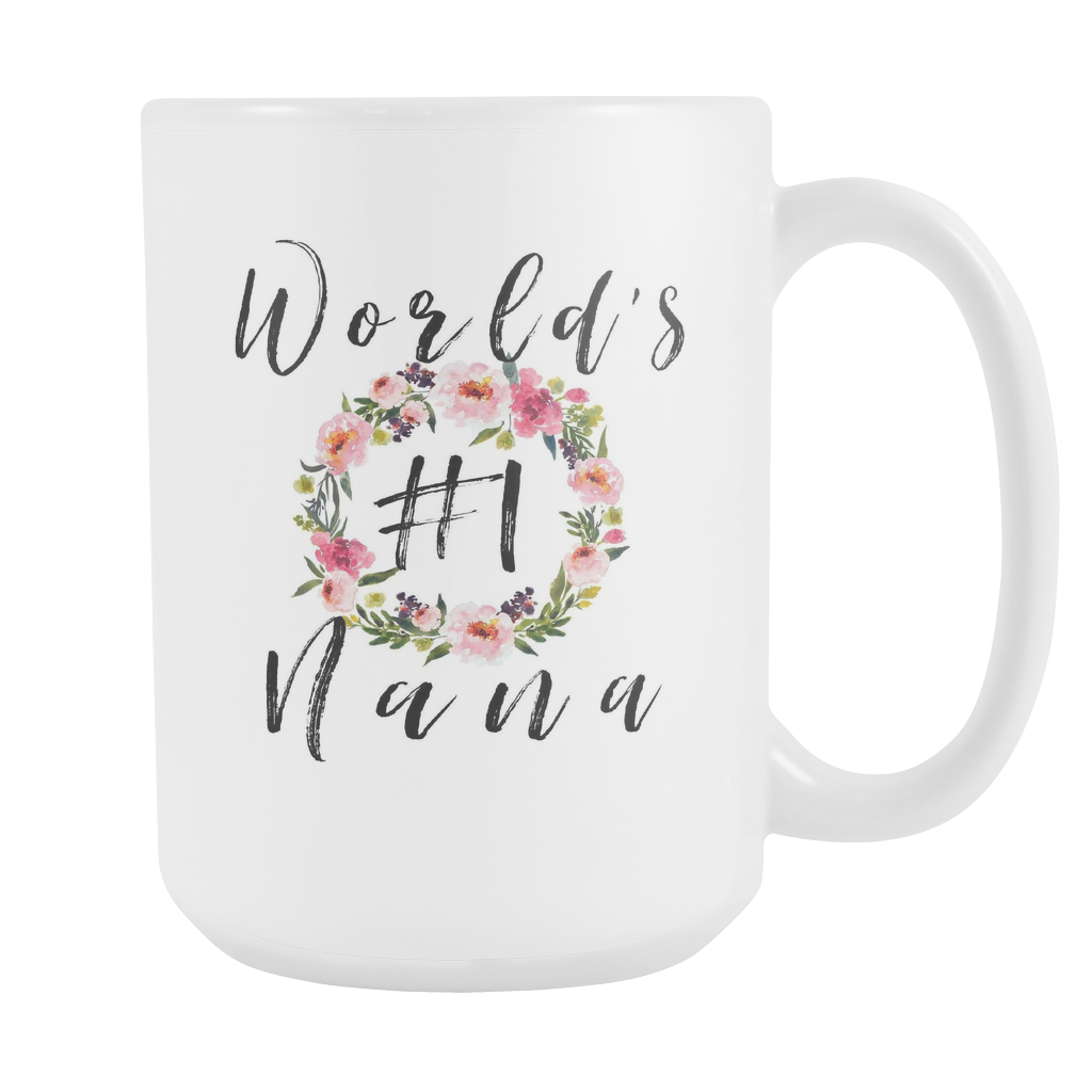 Worlds No1 Nana 15oz Coffee Mug