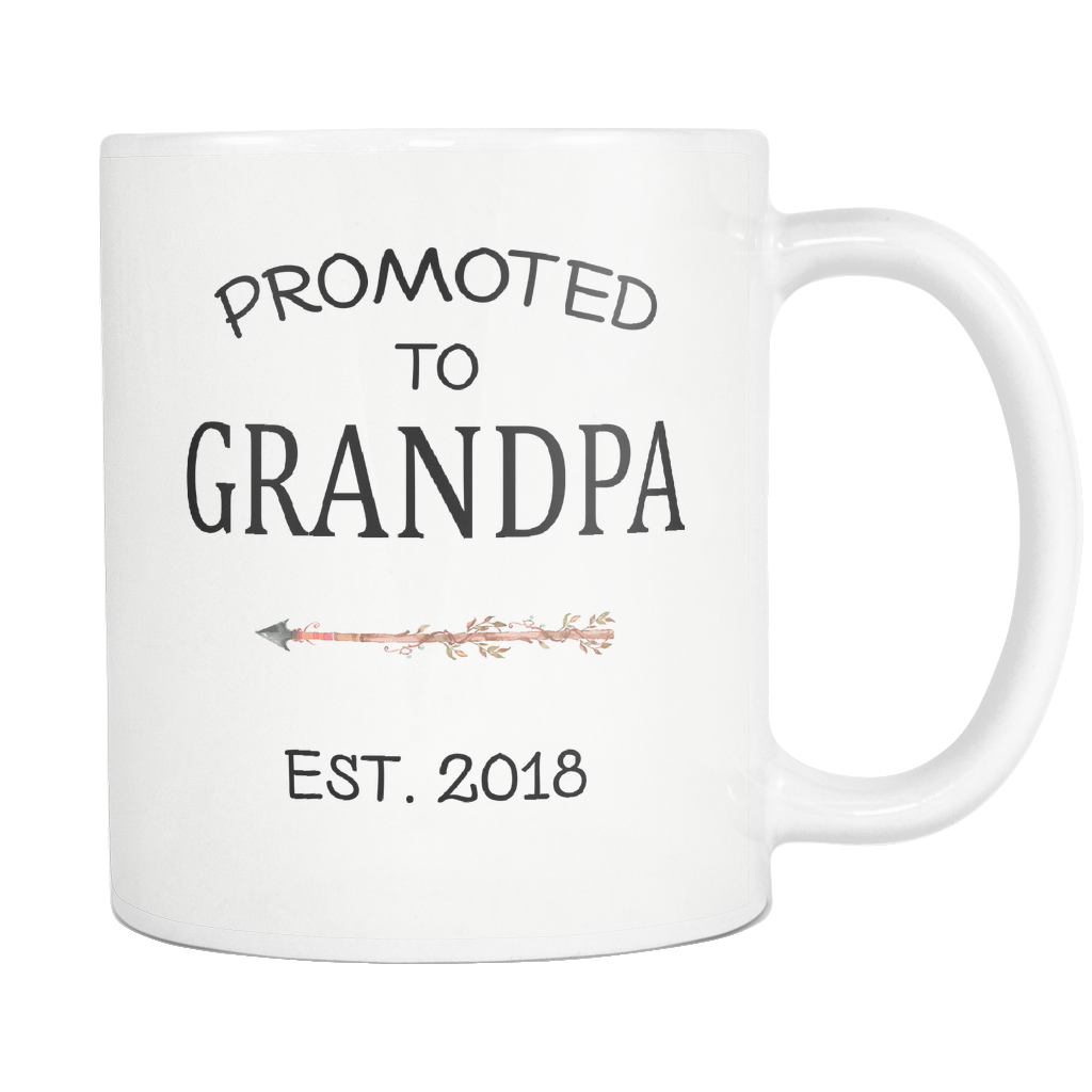 Promoted to Grandpa 2018 11oz