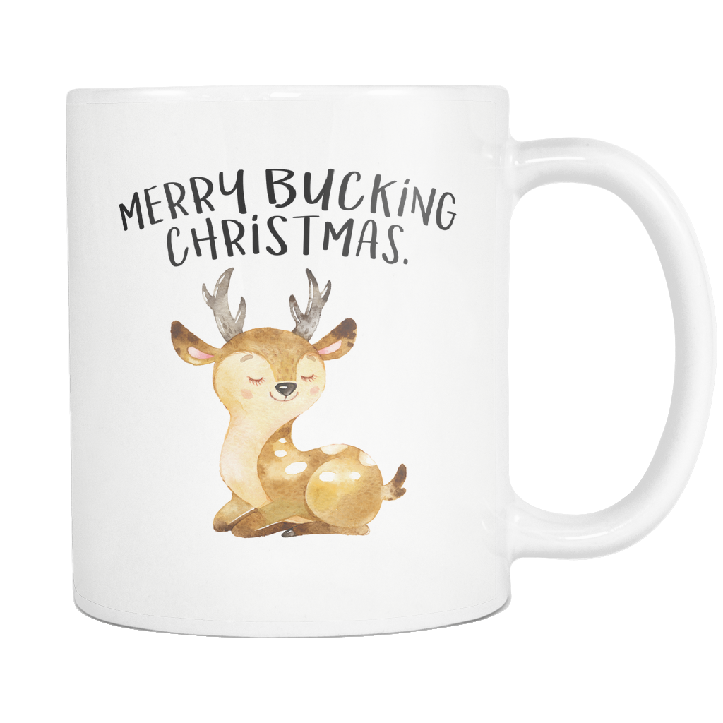 Merry Bucking Christmas 11oz Mug
