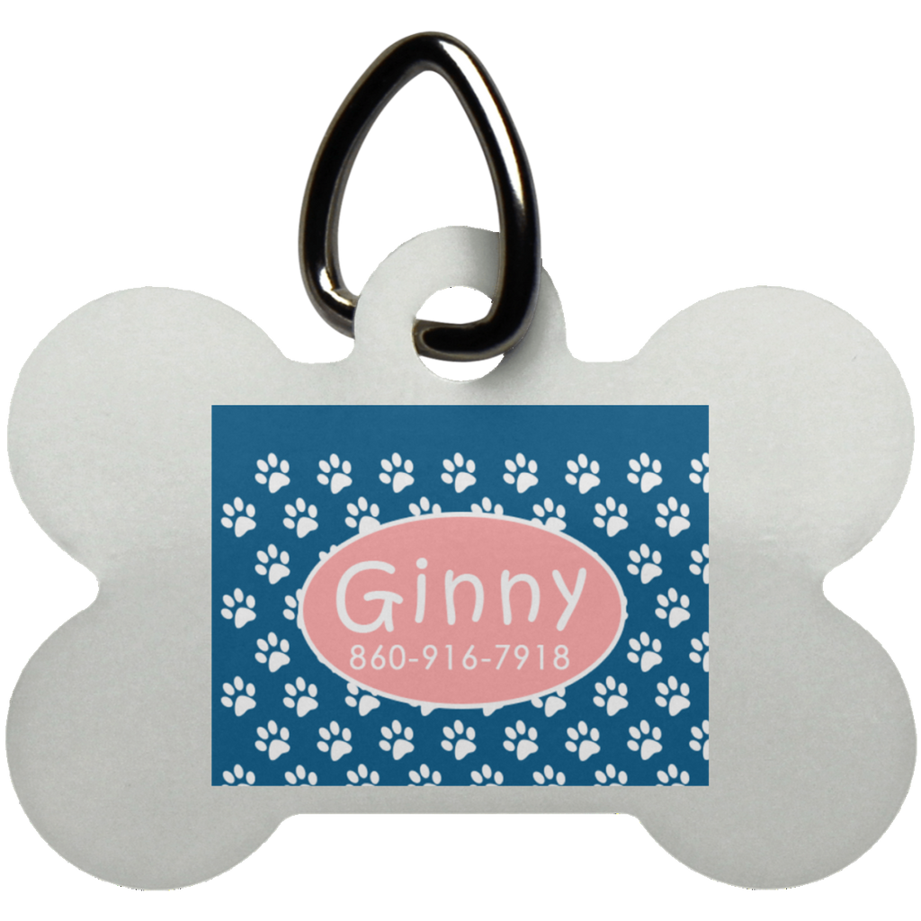 Karen Pennington Dog Bone Pet Tag