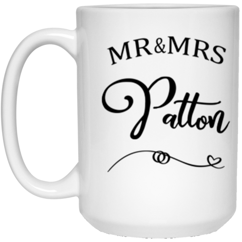 Beth Patton 15 oz. White Mug