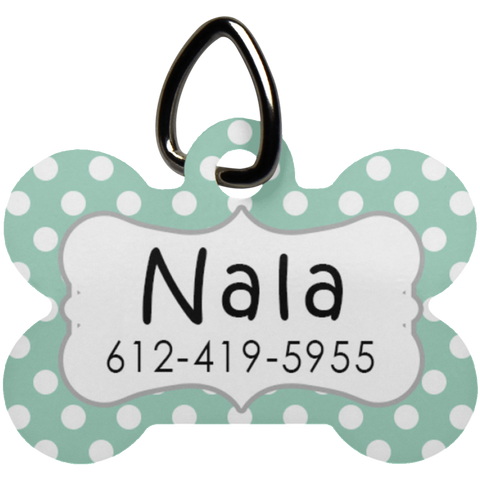 UN5771 Dog Bone Pet Tag