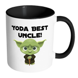 Yoda best uncle accent mug