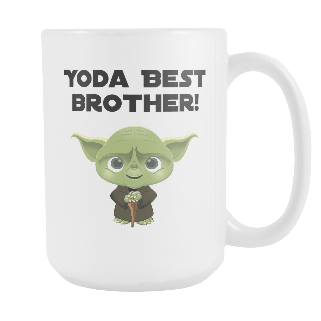 Yoda Best Brother 15oz Coffee Mug