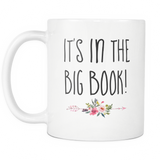 Its in the big book coffee mug