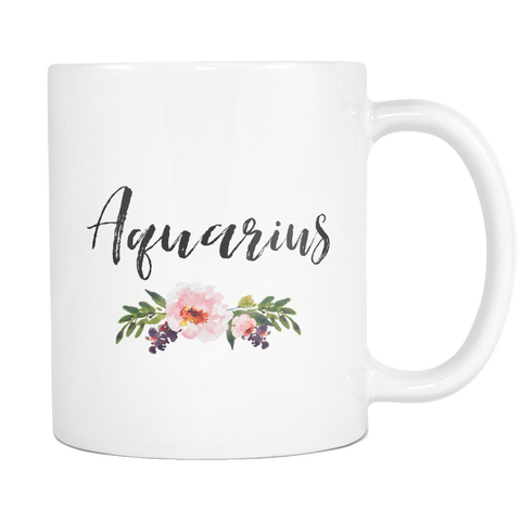 Aquarius 11oz Mug