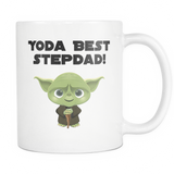 Yoda Best Stepdad Coffee Mug