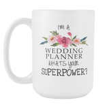 Super Wedding Planner 15oz Mug