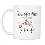Grandmother of the Bride Coffee Mug