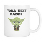 Yoda Best Daddy Coffee Mug