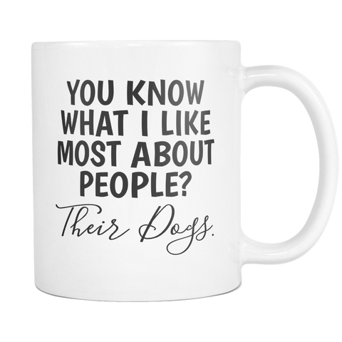 What I like Most About Poeple Mugs