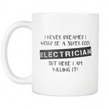 Super Cool Electrician Coffee Mug