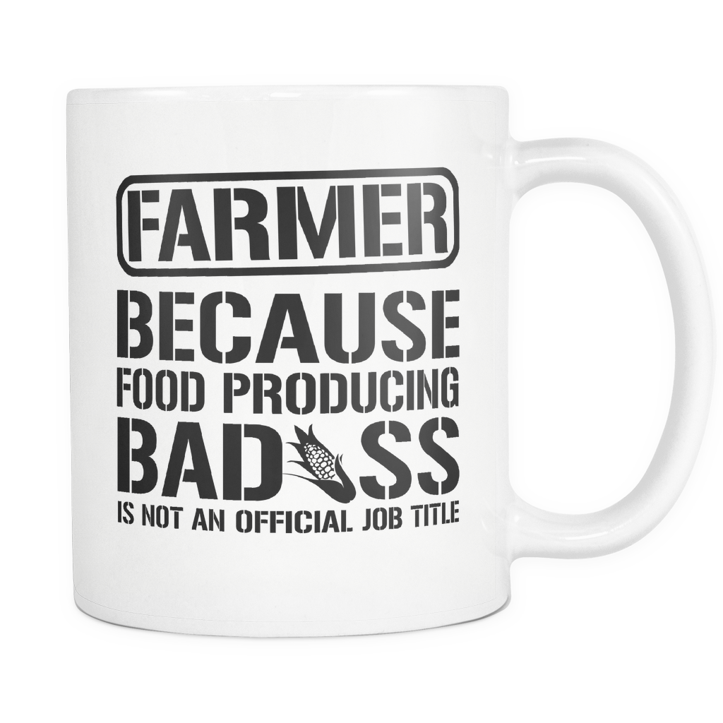 Badass Farmer Coffee Mug