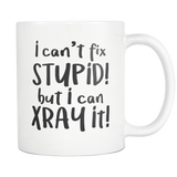 I cant fix stupid but I can sedate it funny coffee mug 11oz