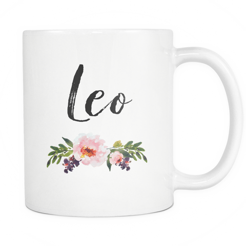 Leo Star Sign Coffee Mug