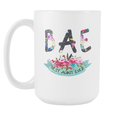 BAE - Best Aunt Ever 15oz Mug