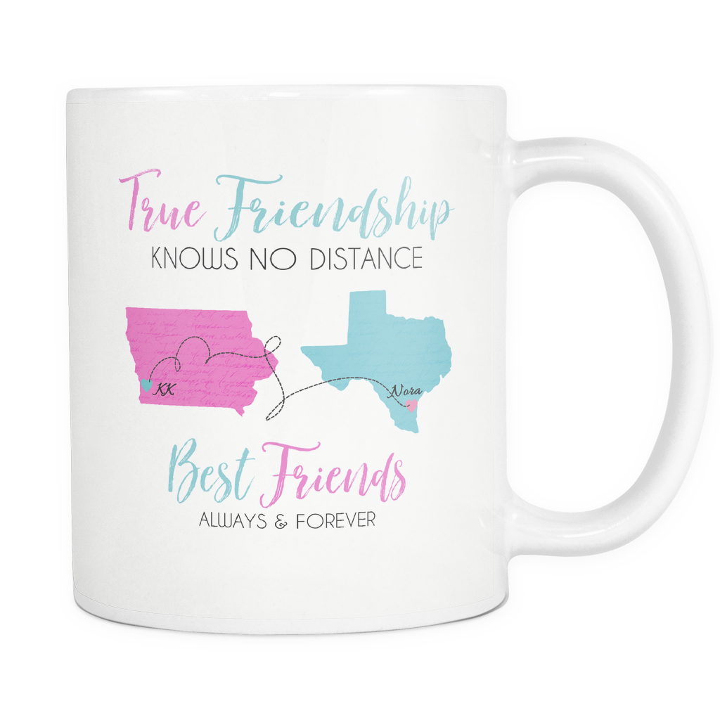Custom Friendship Mug for KK