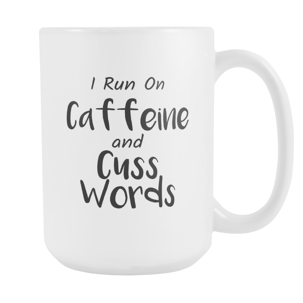 Coffee and Cuss Words Coffee Mug