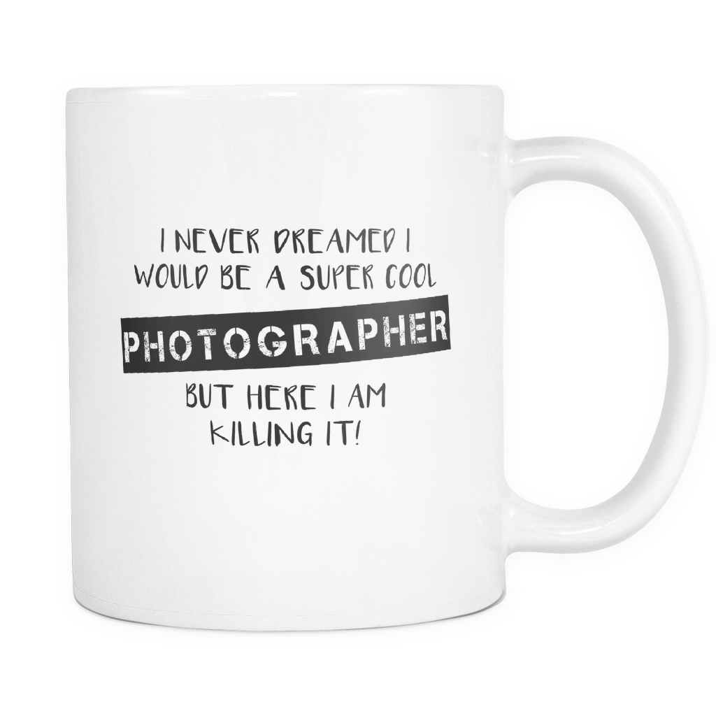 Super Cool Photographer Mug