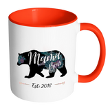 Mama & Papa Bear Set 2018 Accent Mug