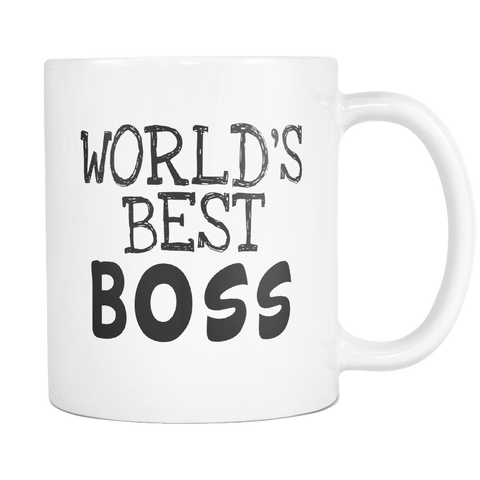 Worlds Best Boss 11oz Mug