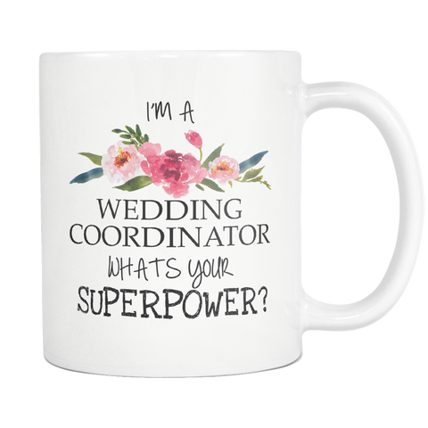 Wedding Coordinator Mug 11oz