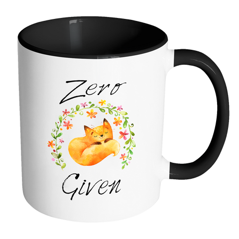 Zero Fox Given Accent Mug