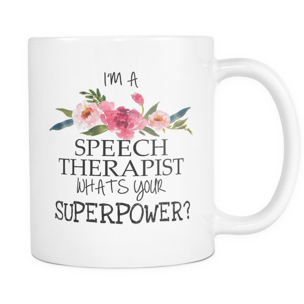 Super Speech Therapist Coffee Mug