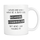 Super Cool School Counselor Coffee Mug