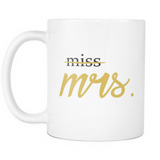 Miss Mrs Coffee Mug