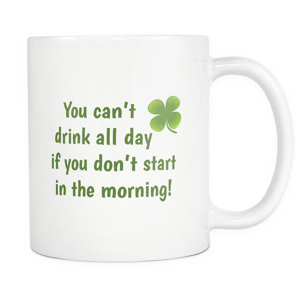 You cant drink all day